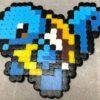 【アイロンビーズ】初代ポケモンの御三家・ゼニガメを作ってみた♪ | 便利な世の中を便